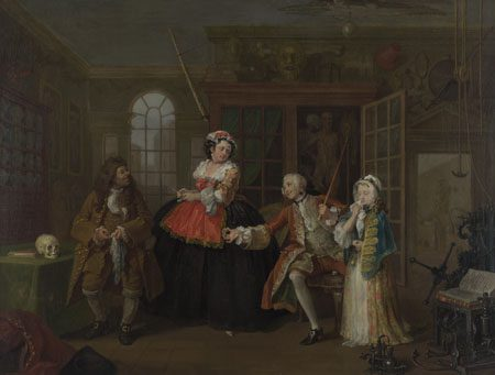 William Hogarth's The Inspection
